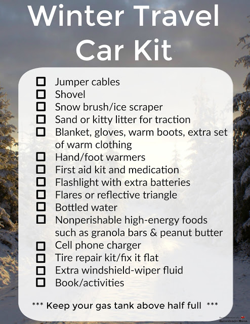 Winter Travel Survival Tips The Mis Adventures Of A Homesteadin Mama