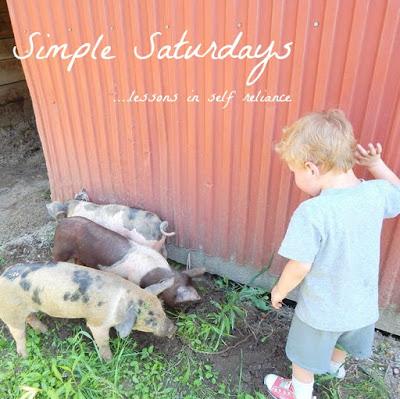 Simple Saturdays Blog Hop October 14th