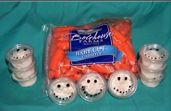 Snowman Veggies