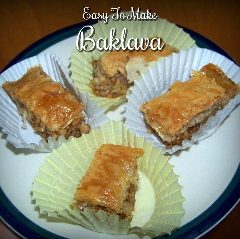 Easy to Make Baklava