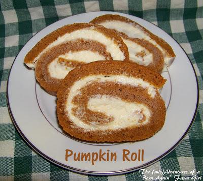 Pumpkin Roll Goodness