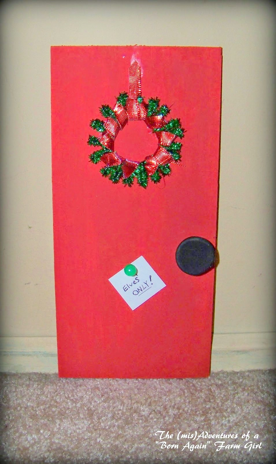 DIY Elf Door