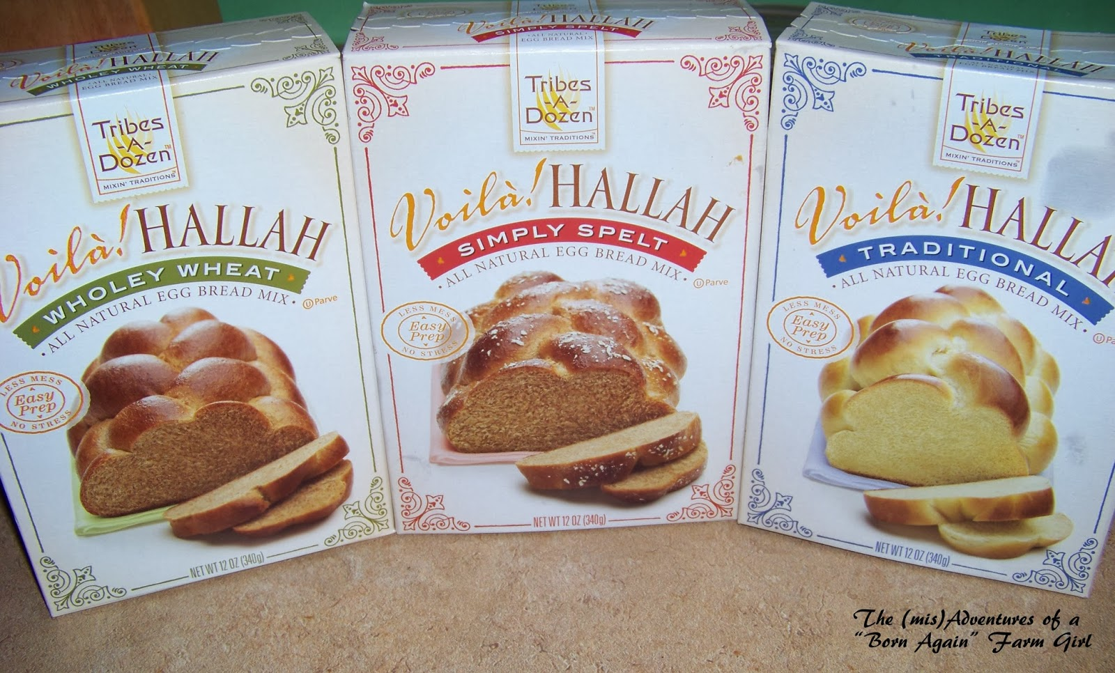 Tribes-A-Dozen Voila! HALLAH Bread Mixes (Review)