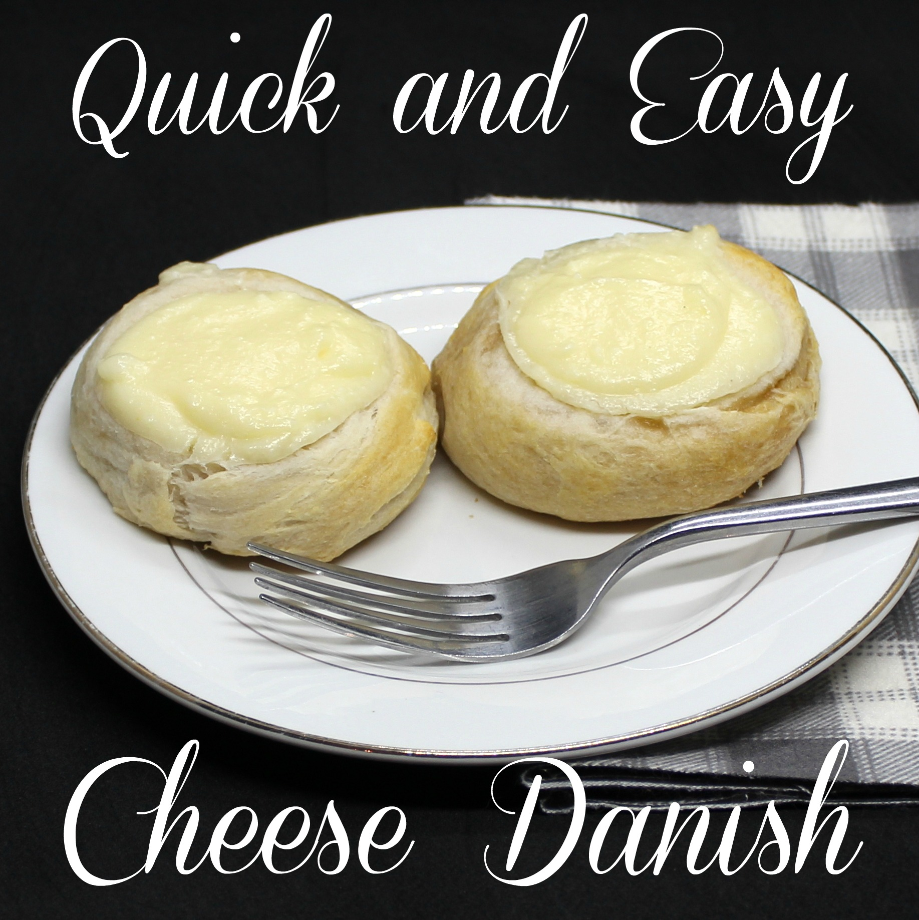Quick and Easy Cheese Danish