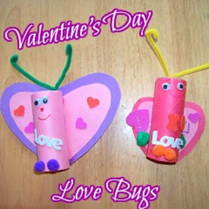 valentines day love bugs