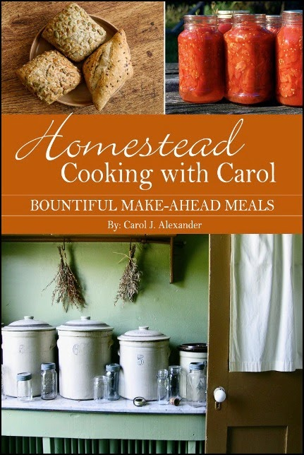 Homestead Cooking with Carol – Bountiful Make Ahead Meals (Book Review)