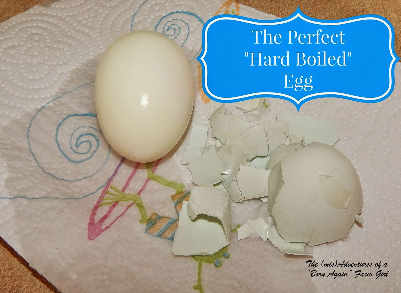 "The Perfect ""Hard Boiled"" Egg"