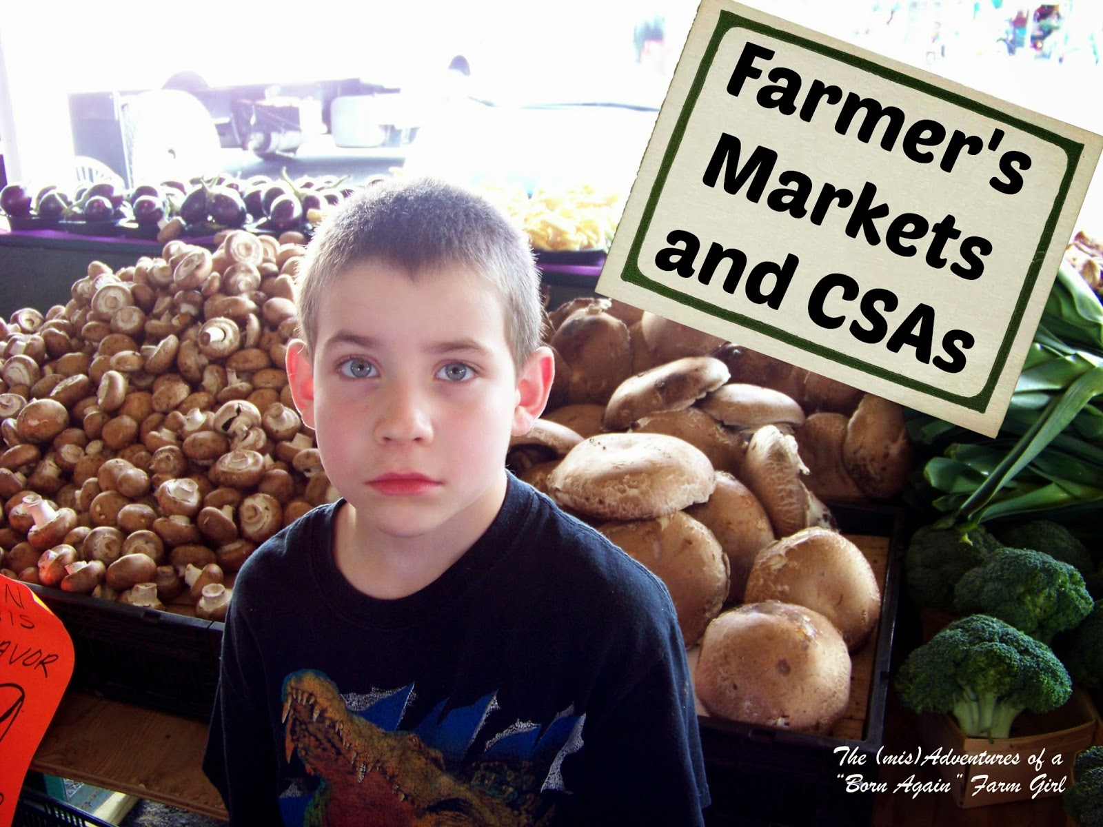 Farmer's Markets and CSAs