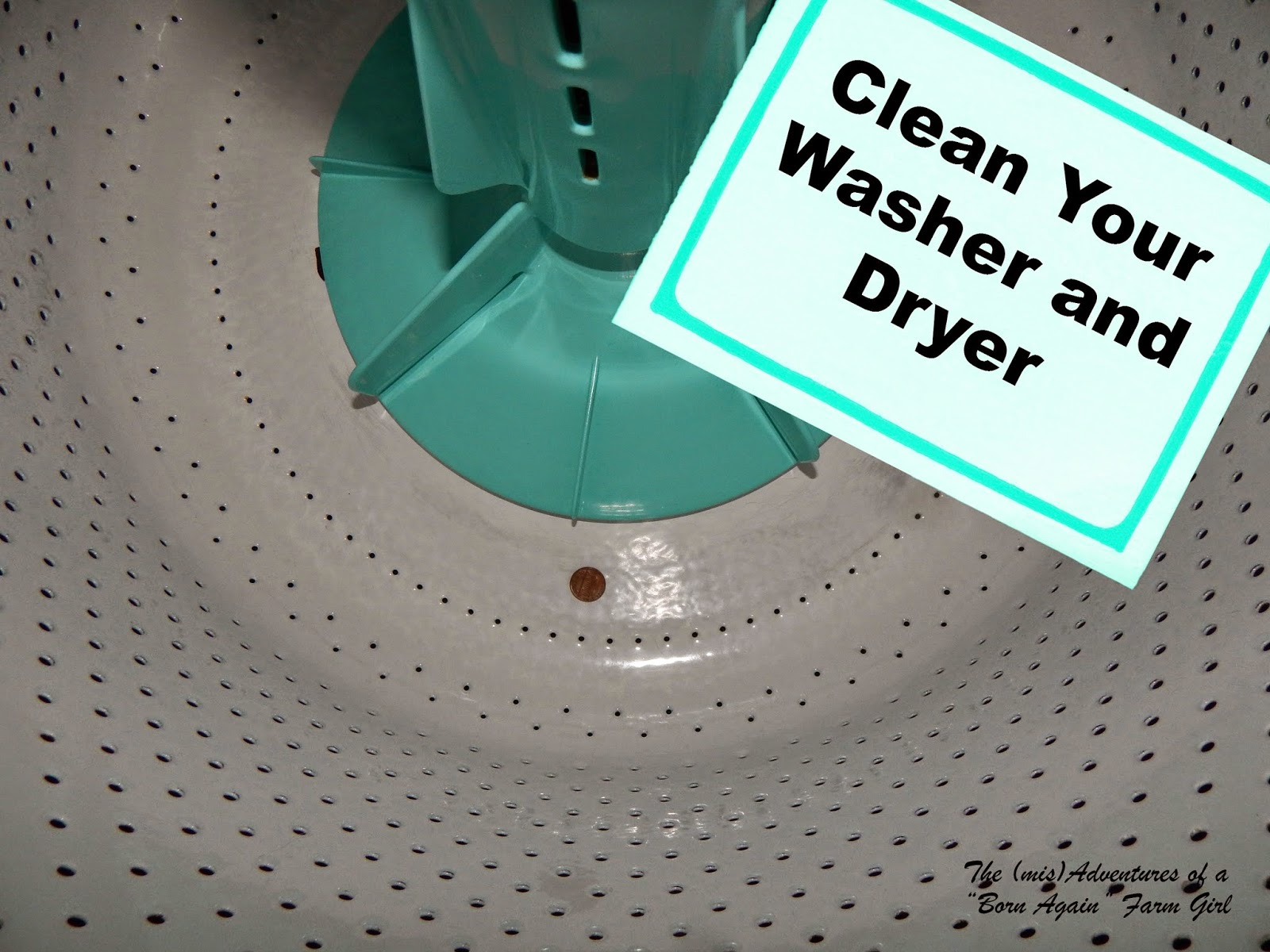 Clean Your Washer and Dryer