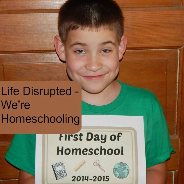 Life Disrupted – We're Homeschooling