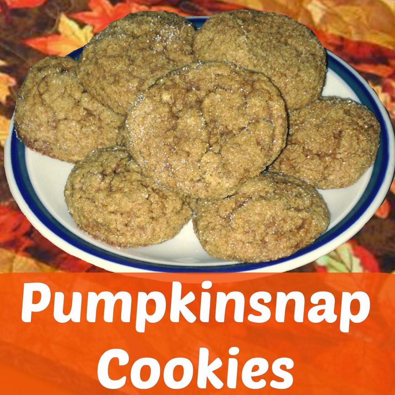 Pumpkinsnap Cookies