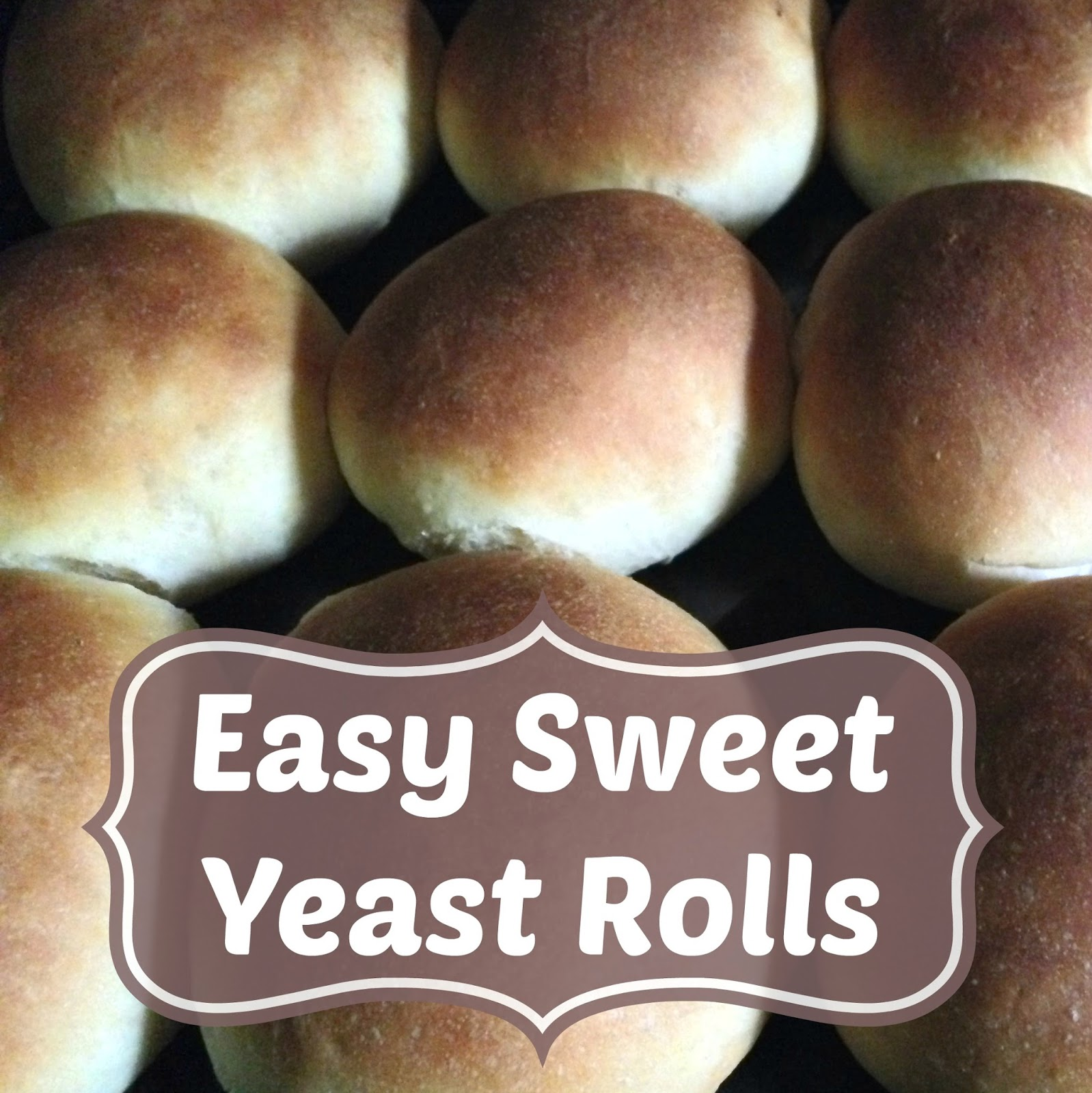Easy Sweet Yeast Rolls