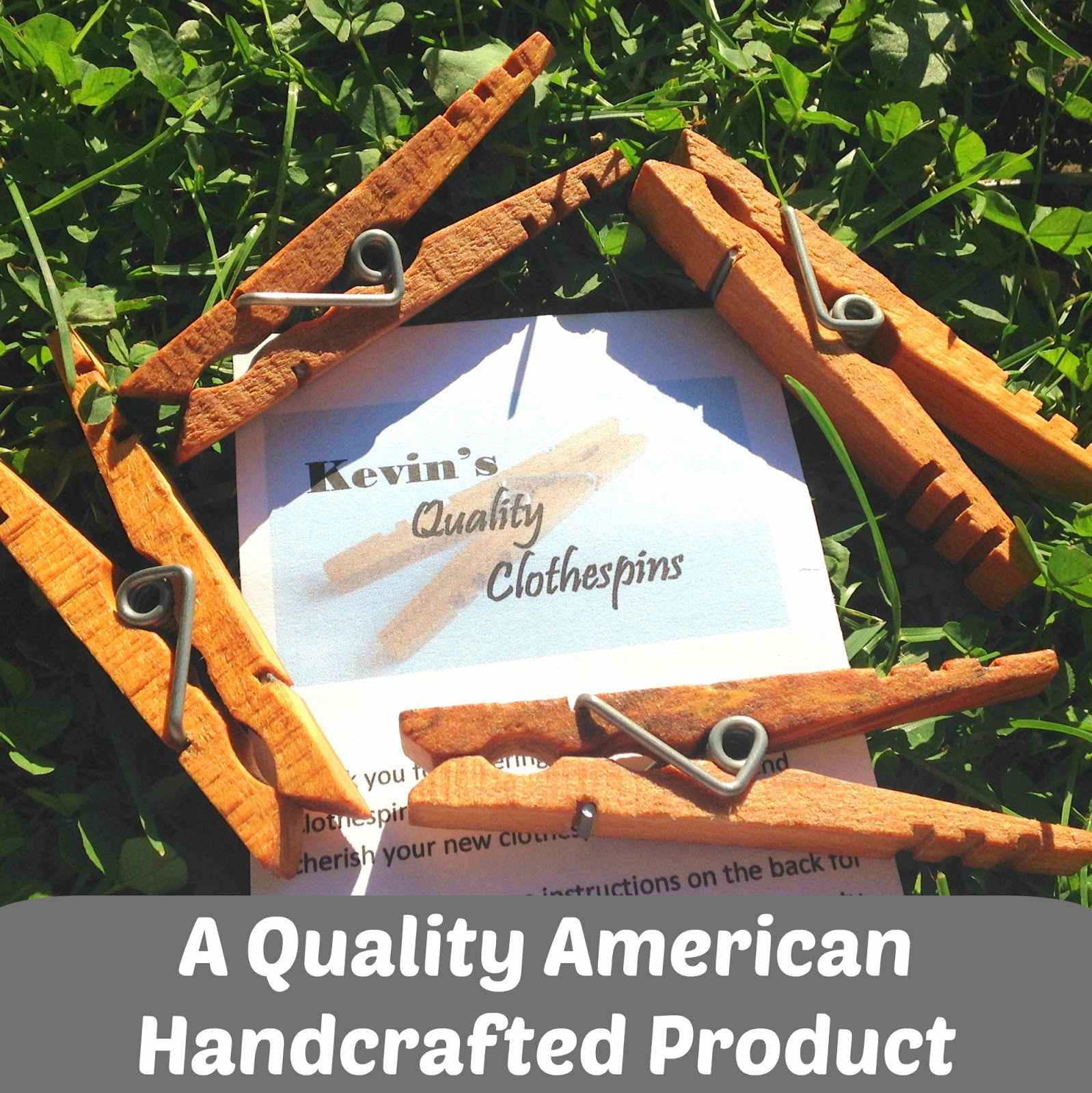 Kevin's Quality Clothespins – A Quality American Handcrafted Product
