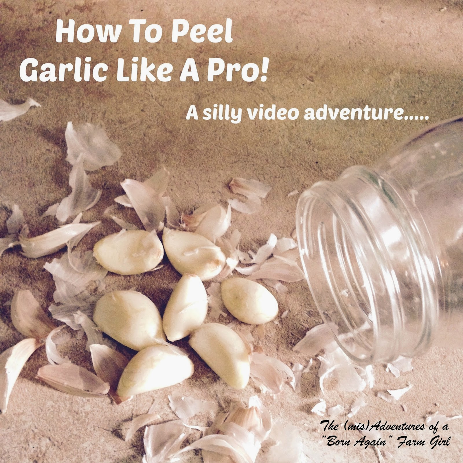 How To Peel Garlic Like A Pro!
