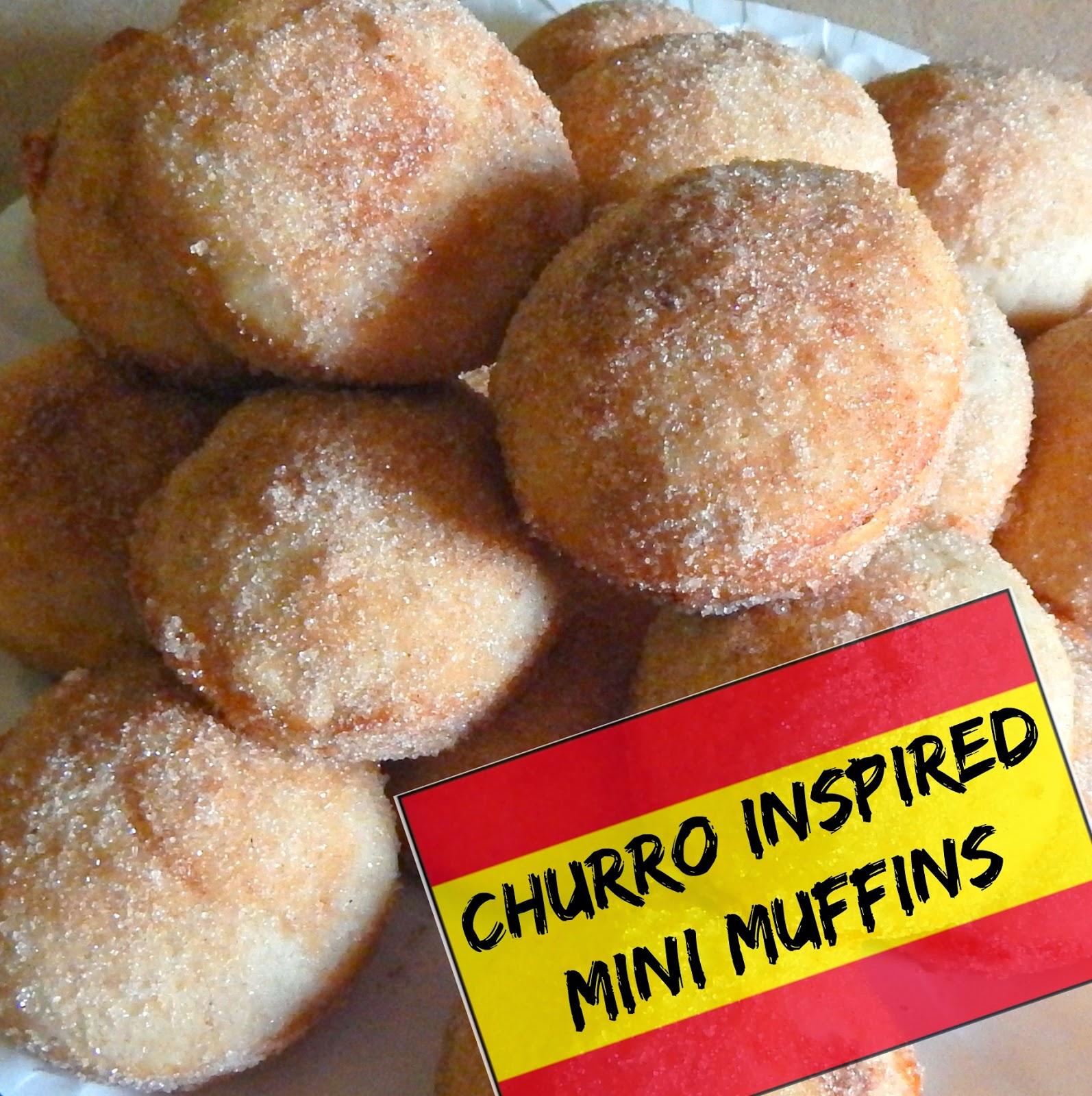 Churro Inspired Mini Muffins