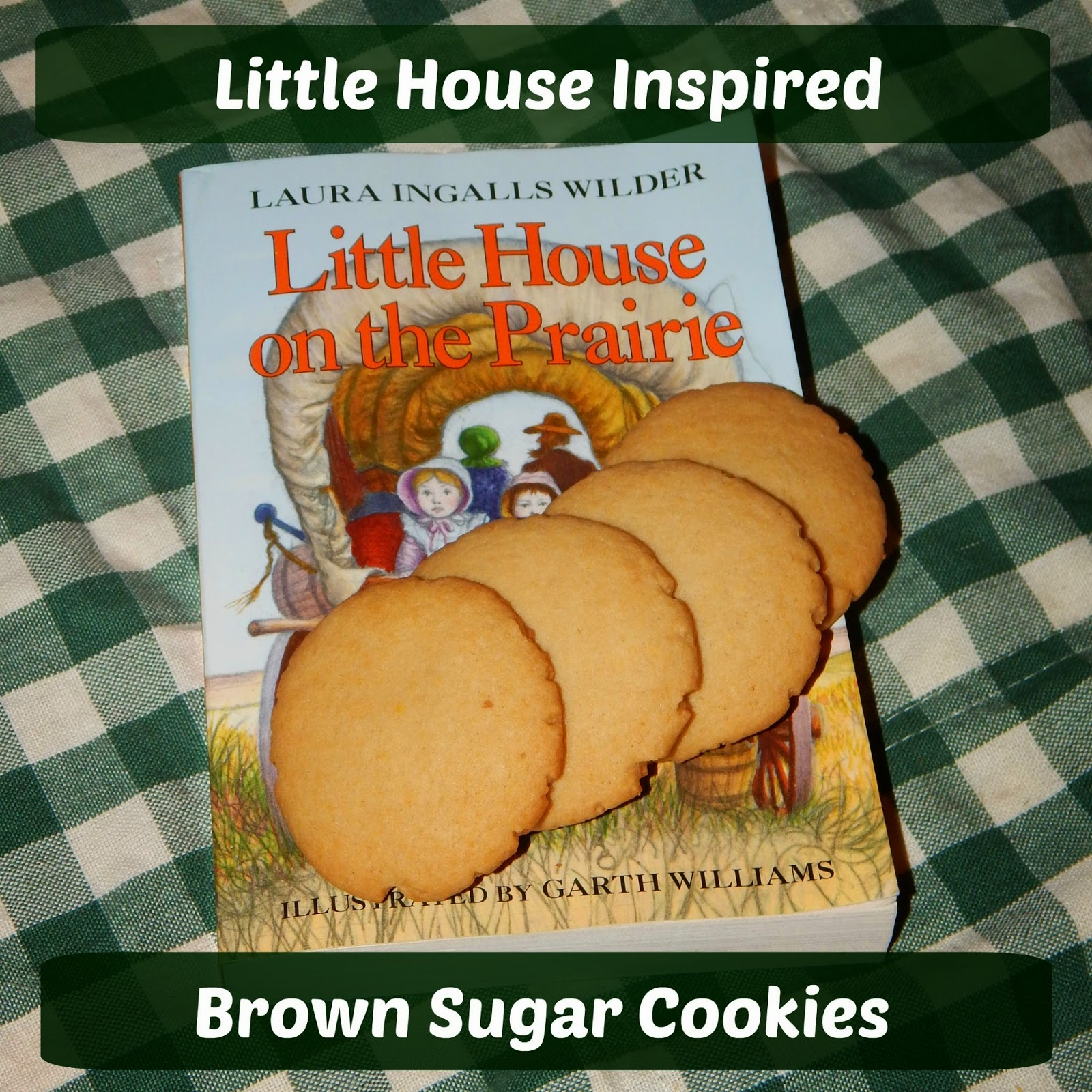 Little House Inspired Brown Sugar Cookies