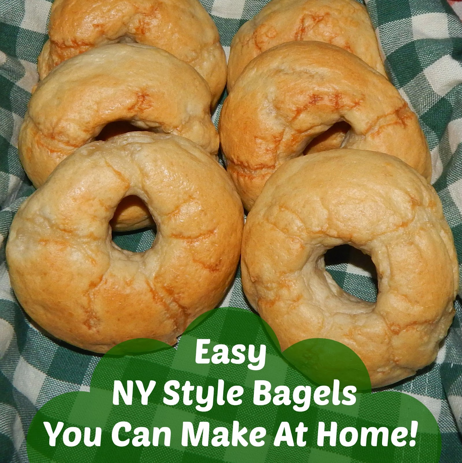Easy NY Style Bagels You Can Make At Home