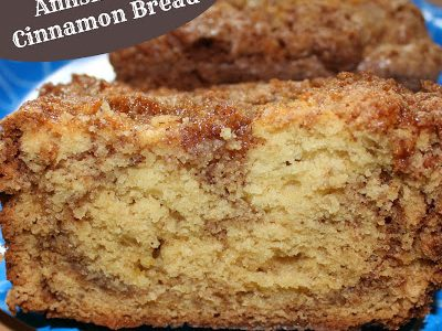 Amish Style Cinnamon Bread Recipe