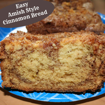 Easy Amish Style Cinnamon Bread
