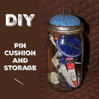 DIY Pin Cushion and Storage