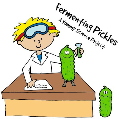 Fermenting Pickles, A Yummy Science Project