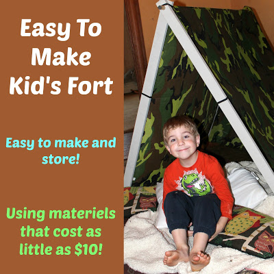 Easy To Make Kid's Fort
