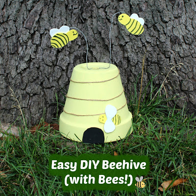 Easy DIY Beehive (with Bees!)
