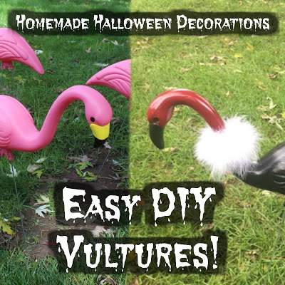 Easy DIY Vultures!