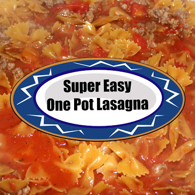 Super Easy One Pot Lasagna