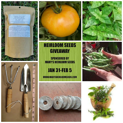 Heirloom Seeds Giveaway