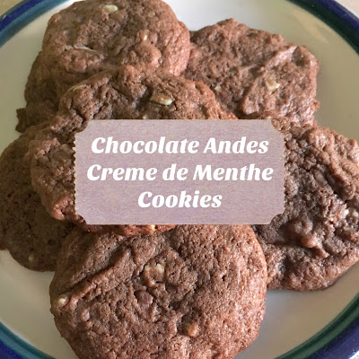 Chocolate Andes Creme de Menthe Cookies
