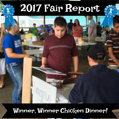2017 Fair Report – Winner, Winner Chicken Dinner!
