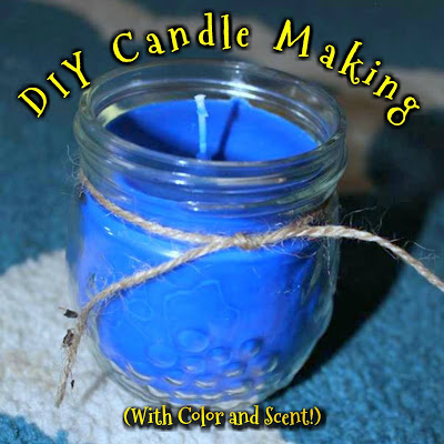 DIY Scented Candles on the Cheap!