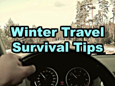 Winter travel survival tips