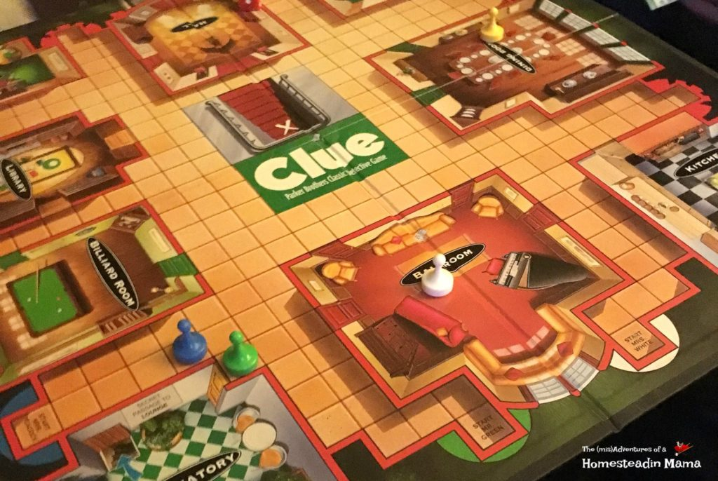 playing Clue