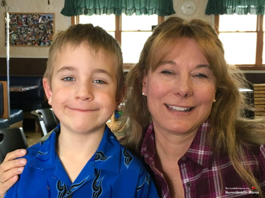 Lisa Steel and Littlest country kid march 25 2017