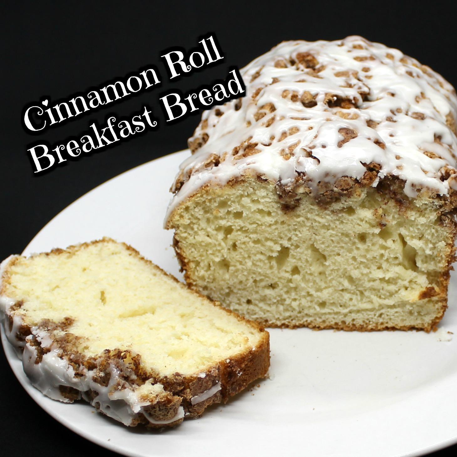 Cinnamon Roll Breakfast Bread