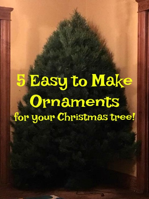 Make your own ornaments!